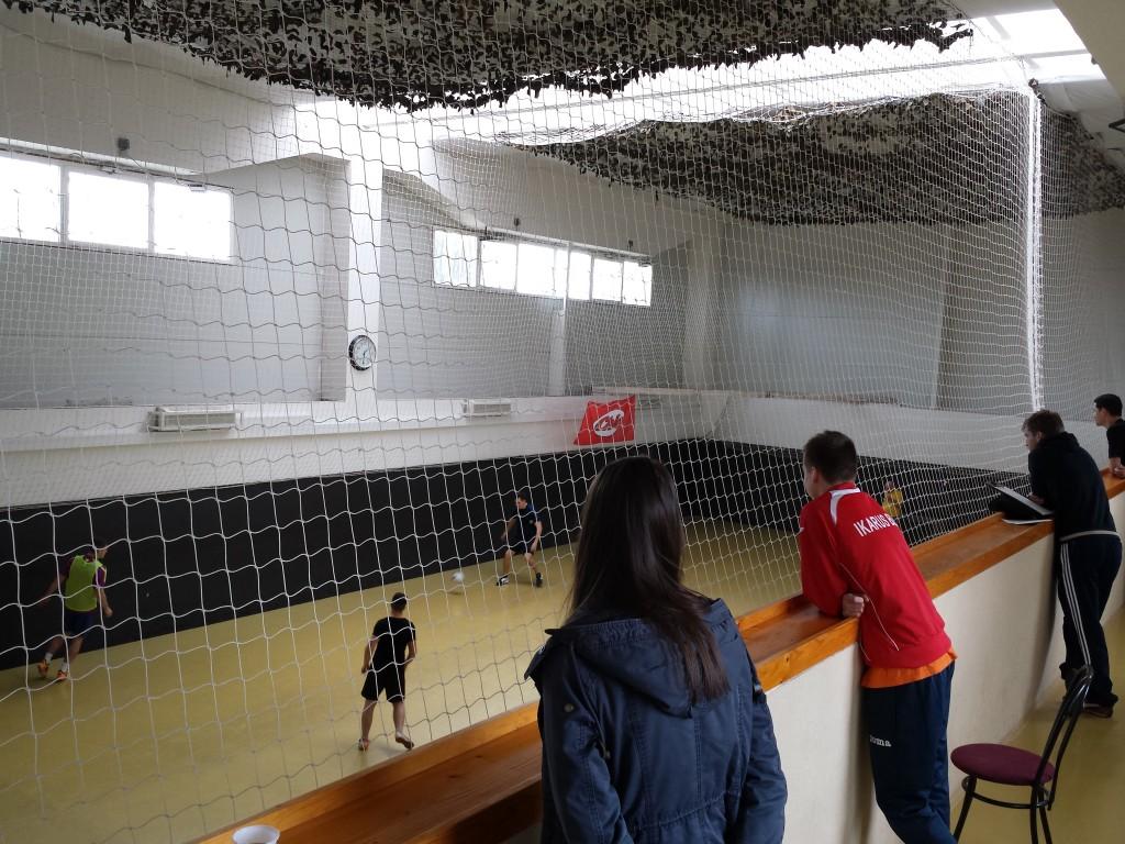 Fenyves Sportcsarnok lelátó