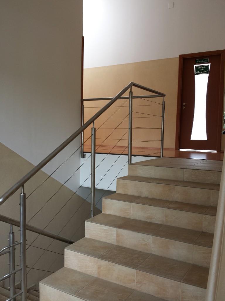 Lépcsők az emeletre