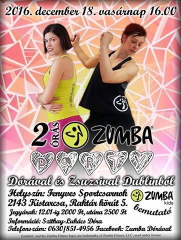 Zumba Party Dórával és Zsuzsival